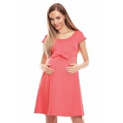 Koralove tehotenské šaty s...