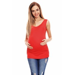 Korálový tehotenský top