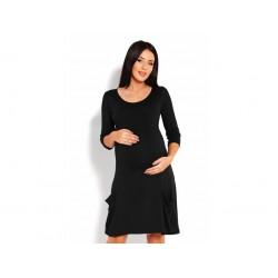 Čierne tehotenské oversize...