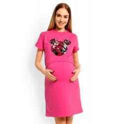 Ružová tehotenská,dojčiaca...