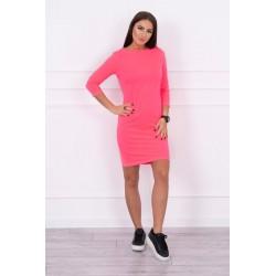 Neónovo ružové šaty