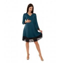 Tehotenské šaty s čipkou...