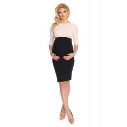 Čierna tehotenská sukňa...