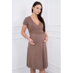 Tehotenské cut-off šaty vo...
