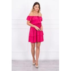 Ružové španielske šaty