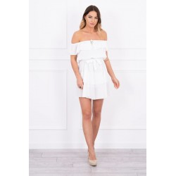 Biele španielske šaty