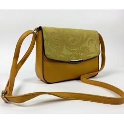 Žltá crossbody kabelka