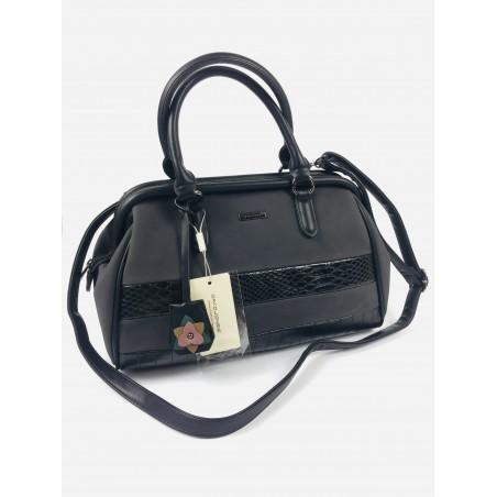 Čierna luxusná kabelka David Jones Paris
