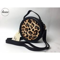 Kabelka s leopardím vzorom...