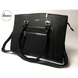Luxusná čierna kabelka...