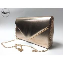 Zlatá spoločenská kabelka
